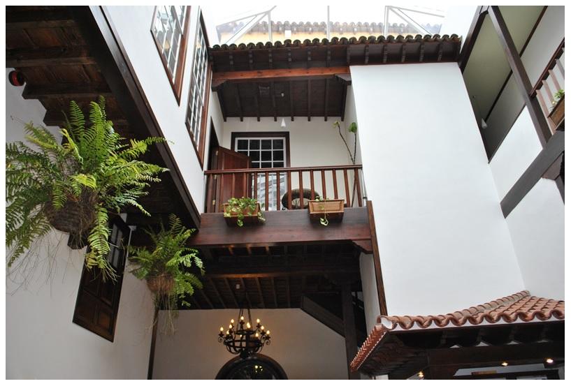 Hotel Rural Victoria Sala Patio Interior