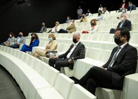 El alcalde de la Villa, Francisco Linares, participó este jueves en el acto celebrado en el TEA Tenerife Artes Escénicas y organizado por el Cabildo de Tenerife