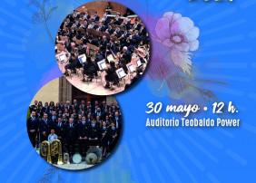 El acto tendrá lugar el próximo 30 de mayo (12:00 horas), en el Auditorio Teobaldo Power, dentro del programa de las Fiestas Patronales de la Villa de La Orotava y será interpretado tanto por la Banda Juvenil como por la Banda de Música