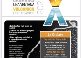 El ciclo se desarrollará entre el 26 y el 30 de julio con una exposición sobre volcanes y jornadas online