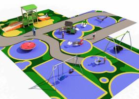 La instalación se ubica en Viña Los Frailes sustituyendo al anterior parque